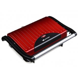 KITFORT Бутербродница Kitfort КТ-1609 Panini Maker, красная
