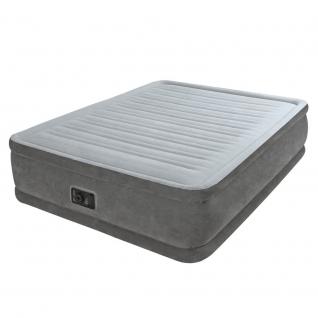 Надувной матрас Twin Comfort Plush Elevated, 152 х 203 см Intex