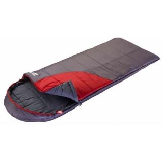 Спальник одеяло кемпинговый Trek Planet Dreamer Comfort темно-серый/бордовый (70390-R)