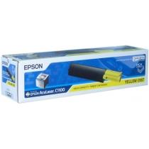 Картридж Epson S050187 (C13S050187) для Epson AcuLaser C1100, CX11, CX11N, CX11NF, оригинальный, (жёлтый, 4000 стр.) 8445-01