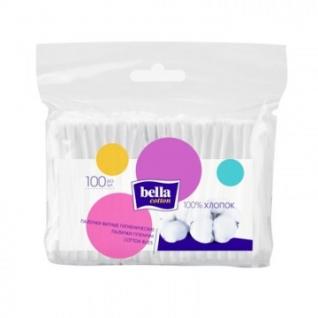 Палочки ватные Bella cotton 100шт/уп п/э пакет (BC-081-F100-007)