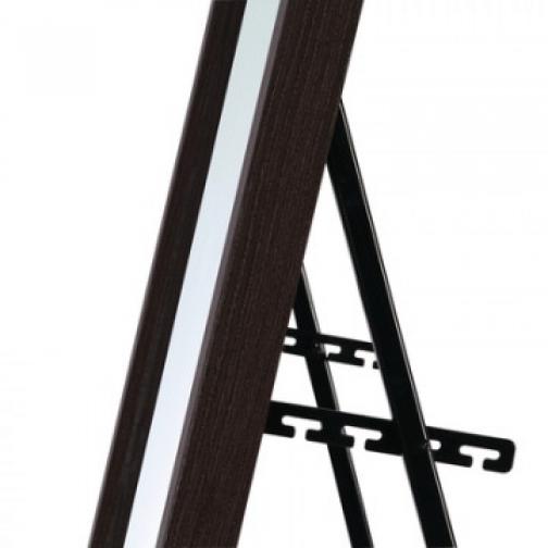 Зеркало МИР_в раме МДФ 354x24x1554 / 300x1500 (3400426.10) венге 37858680 1