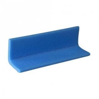 Профиль защитный Г-образный, тип 75x75-10, 2000мм, синий , 10 шт/уп
