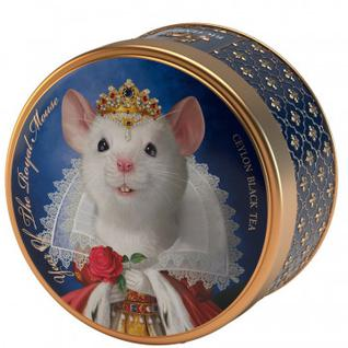 Чай Richard Year of the royal mouse коллекция мыши вид1 королева, 40г жесть