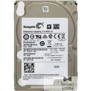 "Seagate 2TB Seagate Enterprise Capacity 2.5 HDD (ST2000NX0253) SATA 6Gb/s, 7200 rpm, 128 mb, 2.5"""