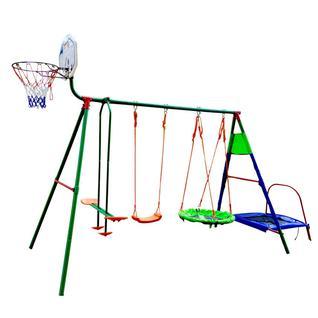 DFC Детский комплекс с батутом и баскетболом DFC MTB-01