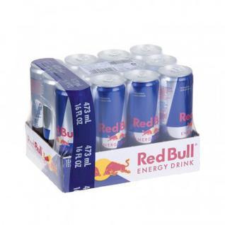 Напиток энергетический Ред Булл 0,473л. 12шт./уп.
