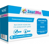 Картридж TN210C для Konica-Minolta Bizhub C250, Bizhub C252, совместимый, голубой, 12000 стр. 10107-01 Smart Graphics