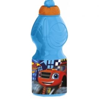 STOR Бутылка пластиковая (спортивная, фигурная, 400 мл). Вспыш и чудо-машинки