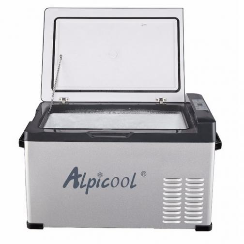 Kомпрессорный автохолодильник ALPICOOL C30 черный (30л, 12/24/220В) 36995009 1
