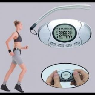 Шагомер со счетчиком калорий и анализатором жира