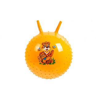 Мяч детский массажный (Желтый) BRADEX