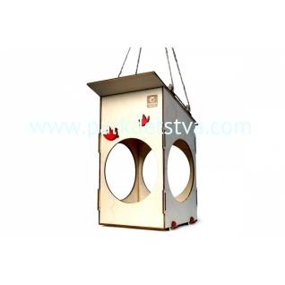 Деревянная Кормушка для птиц Леммо