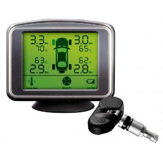 Система контроля давления и температуры в шинах ParkMaster TPMaSter TPMS 4-06 (4 внутренних датчика)