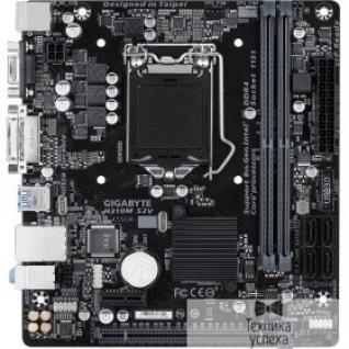 Gigabyte Gigabyte H310M S2V (2.0) RTL S1151, H310, 2xDDR4, PCI-Ex16, PCI-Ex1, D-Sub, DVI, SATA III, GB Lan, USB3.1, mATX