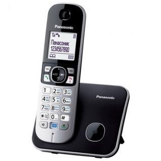 Радиотелефон Panasonic KX-TG6811RUB чёрно-серый