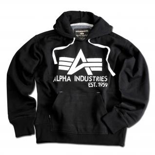 """Alpha Industries Толстовка Alpha Industries с большим """"A"""", цвет черный"""