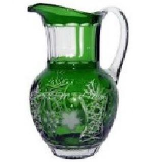 Кувшин для воды Ajka Crystal Grape 1,2 л (арт. emerald/64571)