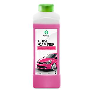 Активная пена Grass Active Foam Pink Цветная, 1 л
