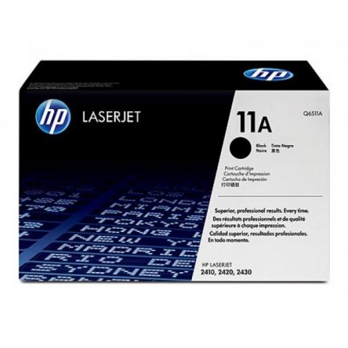 Картридж Q6511A №11A для HP LJ 2400, 2410, 2420N, 2420D, 2420DN, 2430 series (черный, 6000 стр.) 741-01 Hewlett-Packard 852580 1
