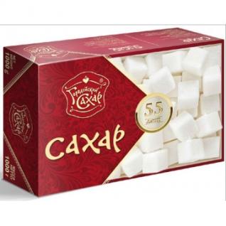 Сахар прессованный Городейский в форме кубиков (1кг)