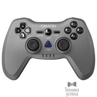 Canyon Canyon CNS-GPW6 3in1 wireless gamepad up to 8 hours of play time, transmission distance up to 10m, rubberized finishing, dual-shock vibration (Compatible with PC, PS2, PS3)
