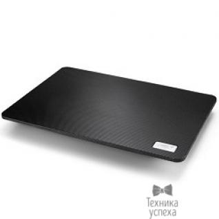 "Deepcool DEEPCOOL N1 BLACK (Подставка для охлаждения ноутбука ( 20шт/кор, до 15,6"", супертонкий 2,6см, 180мм вентилятор, черный) Retail box)"
