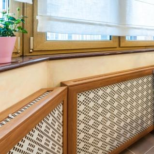 Декоративный экран с коробом Квартэк сфера 620*1500*160(200) мм (пепел, белый, клен, дуб, бук, вишня, орех, махагон, венге)