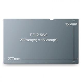 Экран защиты информации 3М для устройств 12.5, 16:9, черный, PF125W9B
