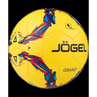 Мяч футбольный Jögel Js-1010 Grand №5, желтый (5)
