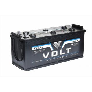 Аккумулятор VOLT STANDARD 6CT- 135.4 135 Ач (A/h) прямая полярность - VS 13511 VOLT VS 6CT - 135 N
