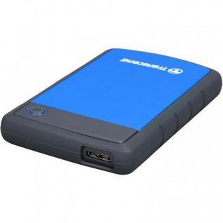 Портативный HDD Transcend StoreJet 25H3 1Tb 2.5, USB 3.0, син, TS1TSJ25H3B