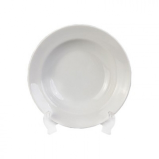 Тарелка глубокая,фарфор белая Идиллия d=200мм (4С0247Ф34)