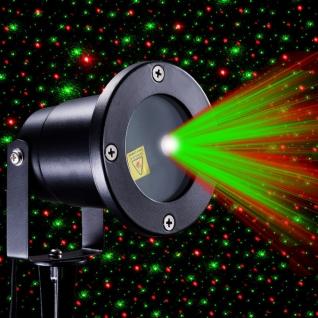 Уличный лазерный проектор Звездное небо с датчиком света Улица/дом