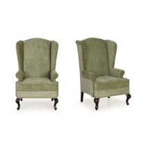 Английское кресло с ушами Bentley Plain 22