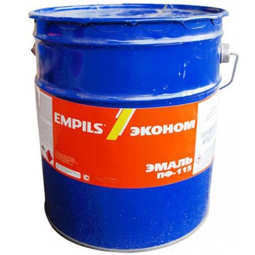 ЭМПИЛС Эмаль ПФ-115 синяя (20кг) / EMPILS Эмаль ПФ-115 синяя (20кг) КЛАСС ЭКОНОМ Эмпилс 36984135