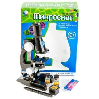 Микроскоп На Бат. Со Светом, С Аксесс. C2119 В Русс.