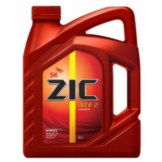 Трансмиссионное масло ZIC ATF 2 4л