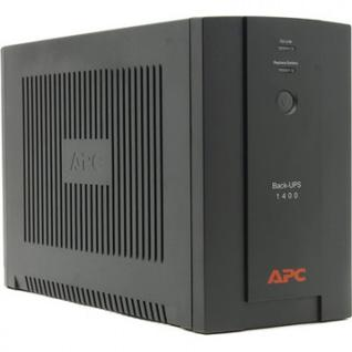ИБП APC Back-UPS BX1400UI (6 IEC/700Вт/USB/RJ11/черный)