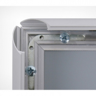 Клик-рама алюминиевая, ширина профиля 25 мм ALUSNAP-25, формат А2