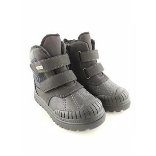 N7115-1-A ботинки для мальчика черный Мышонок 22-27 (23)