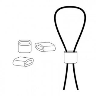 Клипсы зажимные для стального троса WIRE-CLIP (100 шт/уп)