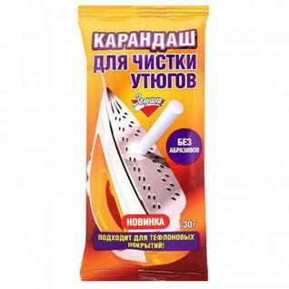 Карандаш для чистки Утюгов, 30 г, Золушка Б24-2 (32шт/уп).