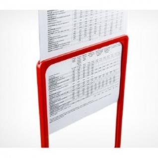 Карман-протектор для пластиковой рамки, А4, 10шт/уп