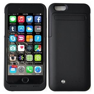 Чехол аккумулятор для iPhone 6 3500 mAh черный