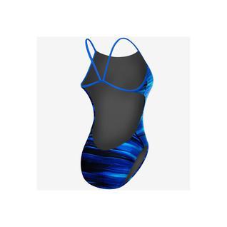 Купальник Tyr Lumen Cutoutfit, совместный, Clue7a/420, голубой размер 30