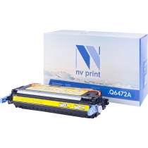 Совместимый картридж NV Print NV-Q6472A Yellow (NV-Q6472AY) для HP LaserJet Color 3505, 3505x, 3505n, 3505dn, 3600, 3600n, 3600dn 21435-02