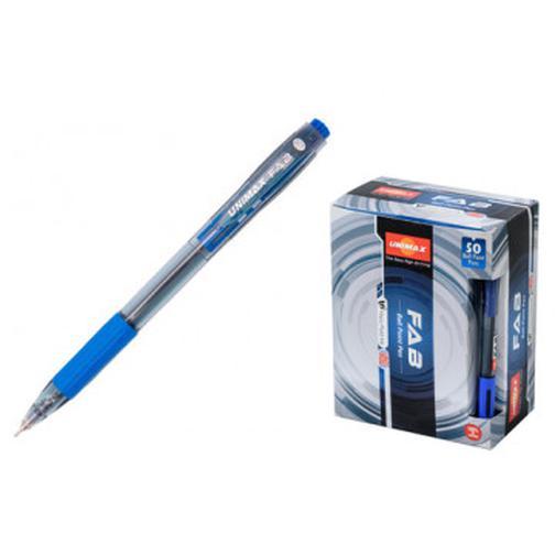 Ручка шариковая Unimax Fab GP 0,7мм, син, масл, автом 40110798 2