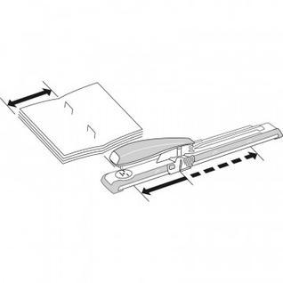 Степлер-брошюровщик LEITZ L5560 до 40 листов со шкалой