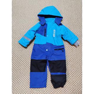 BL-28 Комбинезон для девочки голубой/синий BALLABIO (80-128) (110)